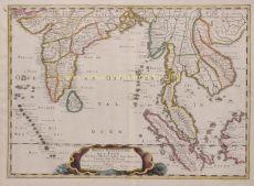 India, Southeast Asia  by  Nicolas Sanson