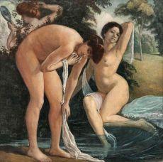 Les Trois Graces by Emile Bernard