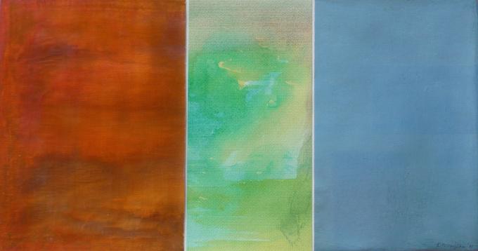 'Trilogy I' by Krikor Momdjian