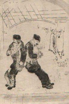 La Gourmandise 2 by Marc Chagall