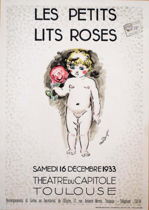 Les petits lits Roses by Kees van Dongen