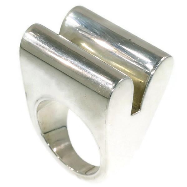 Artist Jewelry Chris Steenbergen silver ring by Chris Steenbergen