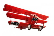 Red Baron Airplane by Unknown Artist