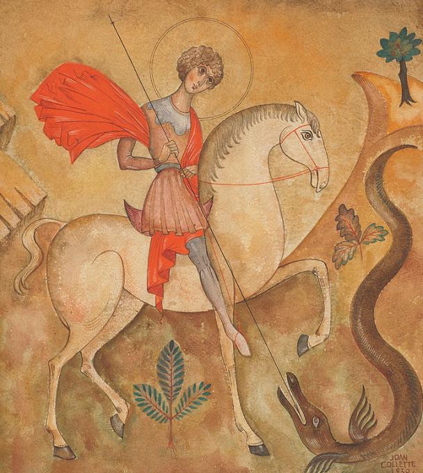 Sint Joris en de draak by Joan Collette