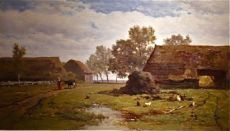 Summer Landscape. The Netherlands by Willem Roelofs