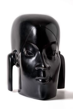 Les Deux Faces - Bronze Sculpture  by Kobe .