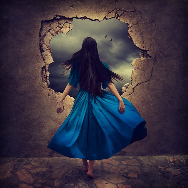 We are infinite by Brooke Shaden