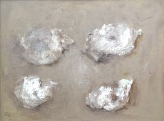 Four oysters by Theo Swagemakers
