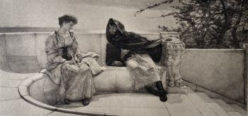 An old story by Lawrence Alma-Tadema