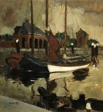 Willemstad by Oscar Verpoorten