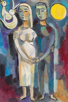 Couple by Geer van Velde