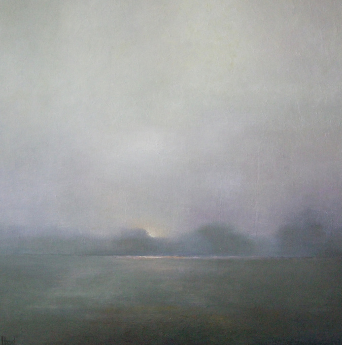 Ochtendmist by Anneke Elhorst