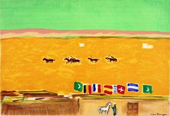 Polo in Alexandrië by Kees van Dongen
