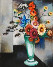 Still life with flowers by Else Berg
