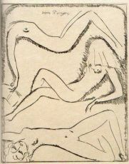 Three Nudes by Kees van Dongen