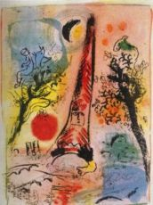 Vision de Paris by Marc Chagall