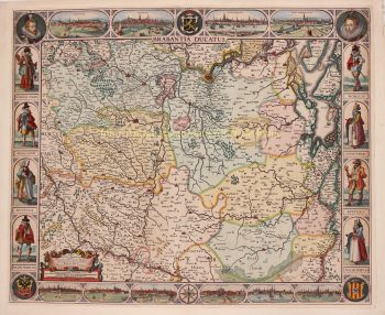 Duchy of Brabant  by  Abraham Goos + Claes Jansz. Visscher