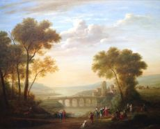 Landscape with Grouped Figures