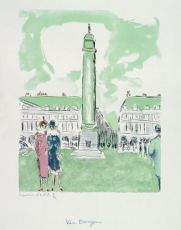 Place Vendôme by Kees van Dongen