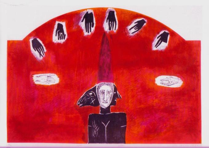'Aleco' by Mimmo Paladino