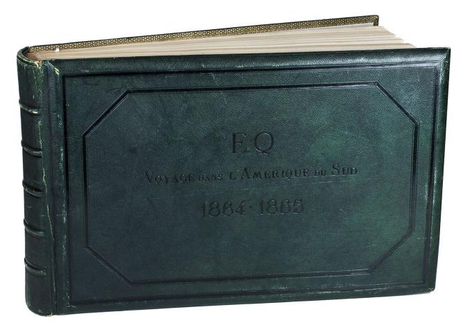 Voyage dans l'Amerique du Sud 1864-1865. by Edouard Quesnel