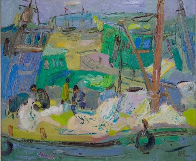 Fisherman by Tian Yi
