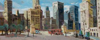Chicago, Michigan Avenue by Jeroen Hermkens