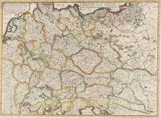 Carte generale de L'Empire d'Allemagne et pays circonvoisins by Mariette, Pierre