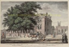 BALLIOL COLLEGE AND TRINITY COLLEGE  by Unknown Artist