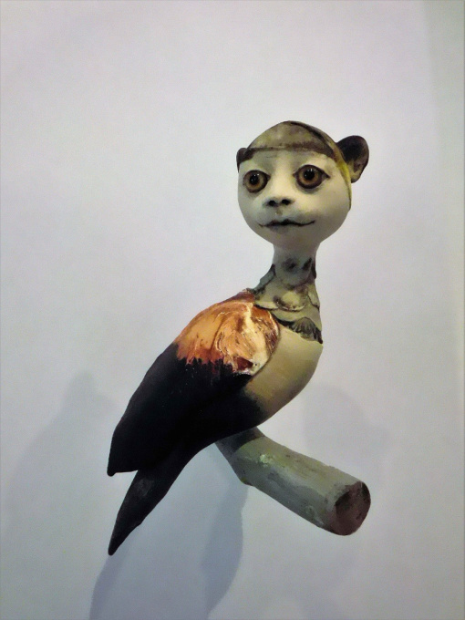 Ogen willen ook wat 2021 Mixed Media Sculpture In Stock by Corjan Nodelijk