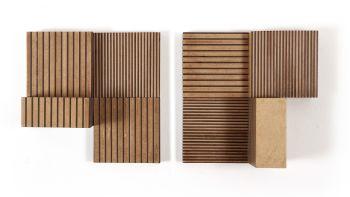 'striped crosss' by Vicente Antonorsi Blanco