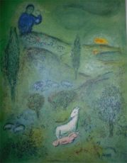 Lamon discovers Daphnis by Marc Chagall