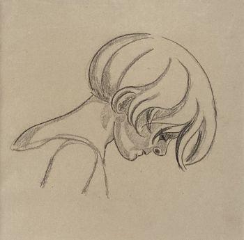 Portrait de profil by Loïs Hutton