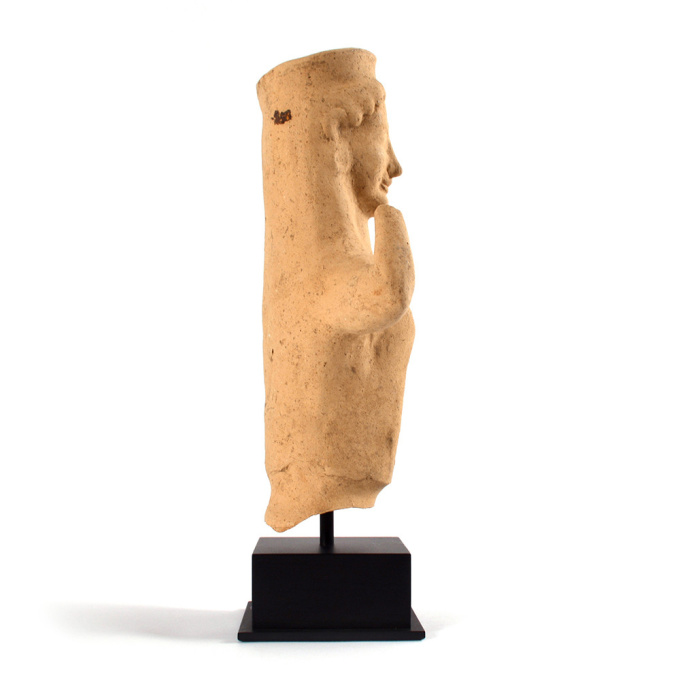 A Greek terracotta bust of a Kore, Archaic by Unknown Artist