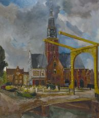The Cheese market, Alkmaar by Germ de Jong