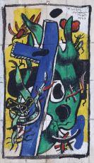 Nid d'Oisseaux avec Panneau Bleu by Fernand Léger