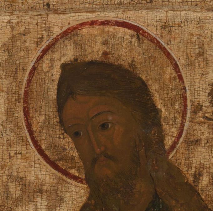 No 8 Saint John the Forerunner by Unknown Artist