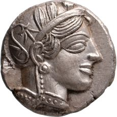 AR Tetradrachm Attica, Athens by Unknown Artist