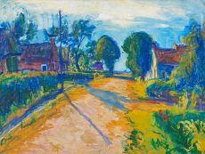 Dorpsstraat Ameland by Johan Dijkstra
