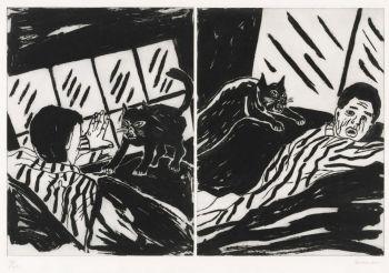 Revenge of the cat by Richard Bosman
