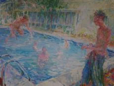 Swimmingpool  by Niels Smits van Burgst