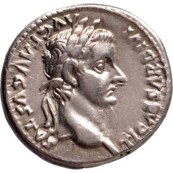 AR Denarius Tiberius (14-37) by Unknown Artist