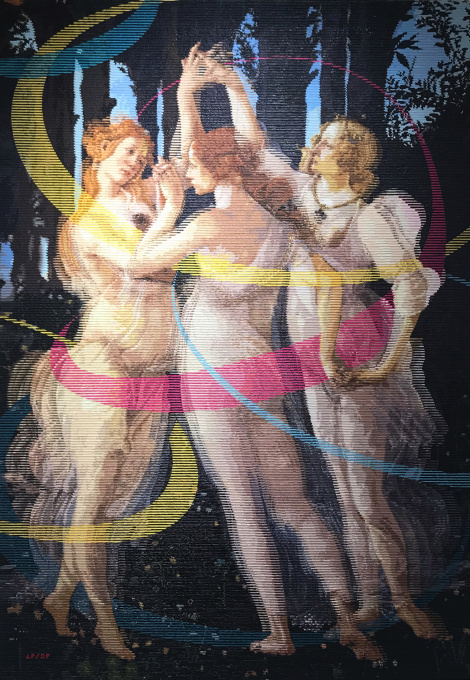 Three Graces by Alea Pinar du Pre