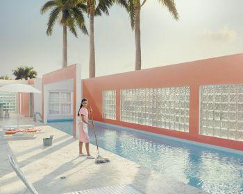 Pink Dreams #2 - Miami Shores by Dean West