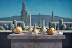 Peren en Romeins glas by Victor Muller
