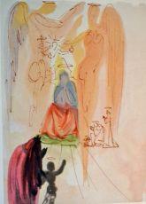 Divina commedia paradiso 23 by Salvador Dali