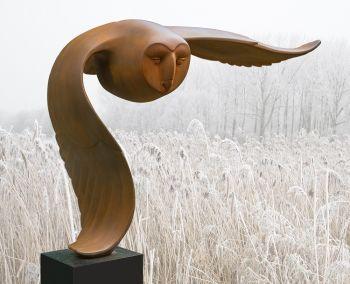 Vliegende uil  by Evert den Hartog