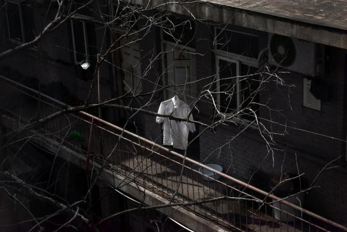 Hanging Shirt by Shen Wei