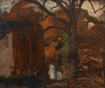 Autumn, or Het Andere Hof te Bergen by Herman Kruyder