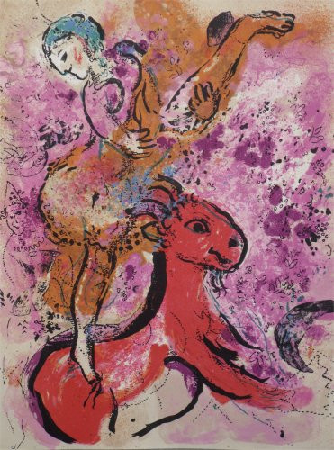 L'Equiere by Marc Chagall